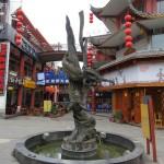 Statue de la rue Jinli
