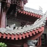Temple Wenshu - Dragons et protecteurs