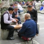 People's Park - Joueurs de cartes