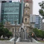 Adélaïde - Square Victoria fontaine