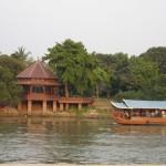 Bateau sur la rivière