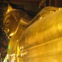 Bangkok - Un gigantesque bouddha couché