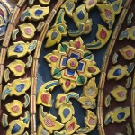 Grand palais - détail temple décoré de céramique
