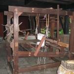 Maison de Jim Thompson - Machine à tisser