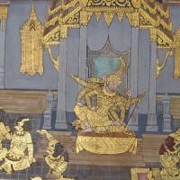 Bangkok - Grand Palais, Râmâyana