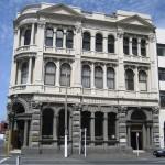 Dunedin - Vieux bâtiment, 1859