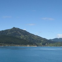 Paysage à bord du ferry