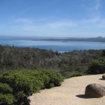 Freycinet - Vue sur la Great Oyster Bay