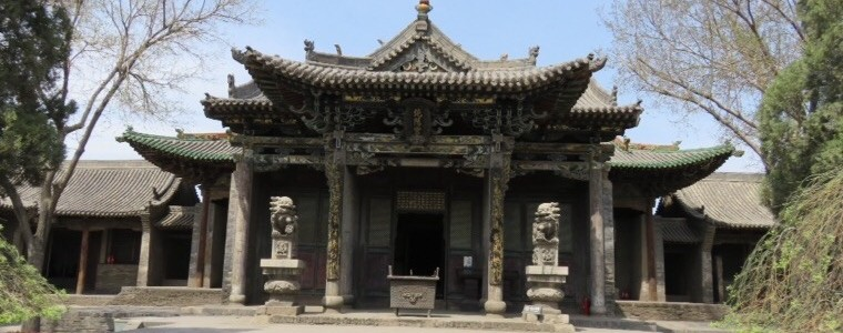Pingyao, temple QIngxuguan