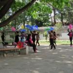 Danseuses à l'éventail