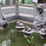 Mont Emei, fontaine