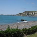 Kaikoura, la mer et la plage