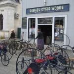 Oamaru - A bicyclette....