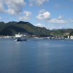 Arrivée dans le port de Picton