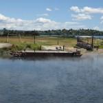 Rotorua - Le village maori, les barques