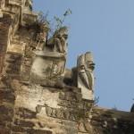 Temple Wat Ratchaburana - Statues Nagas (serpents)
