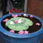 Maison de Jim Thompson et ses fleurs de lotus