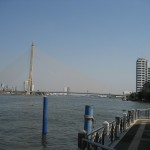Pont sur la rivière Chao Phraya