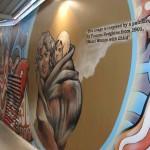 Dunedin - Fresque sur Frances Hofgkins