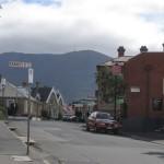 Hobart - Le Mont Wellington en arrière-plan