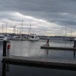 Hobart, le port