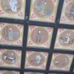 Temple Erlang, plafond