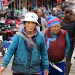 Lijiang, marché