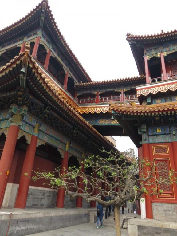 Temple des Lamas, pavillons