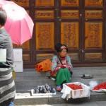 Dali, vendeuse de rue