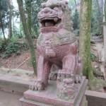 Mont Emei, lion gardien