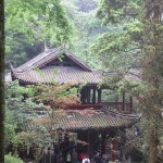 Mont Emei, pavillon
