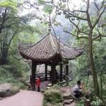 Mont Emei, petit pavillon