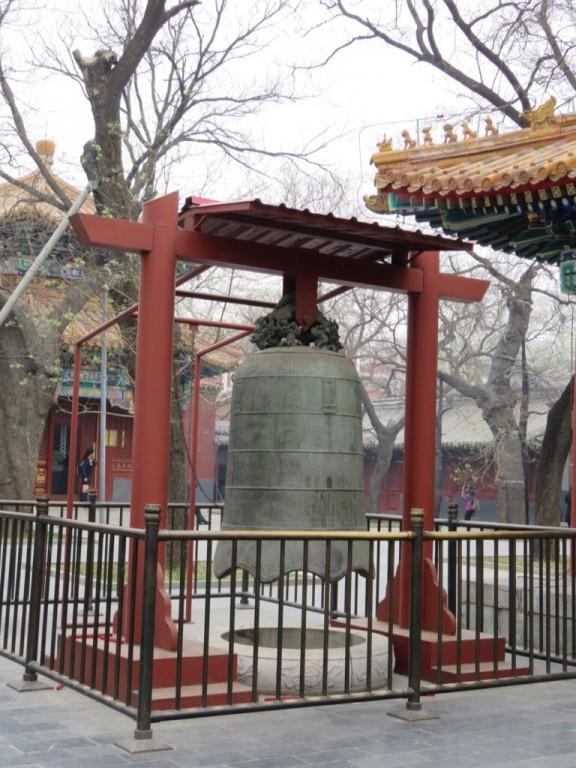 Temple des Lamas, cloche