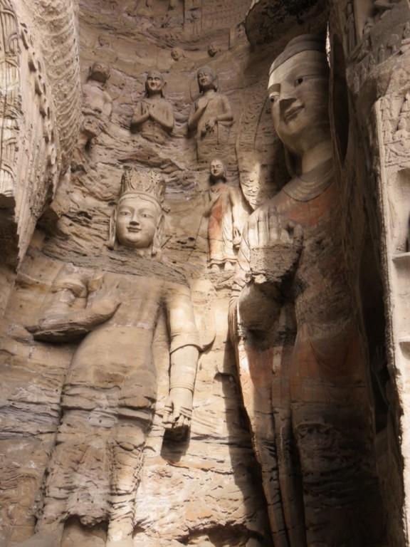 Les grottes de Yungang