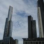 Melbourne et ses buildings immenses