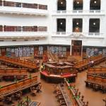 Melbourne - Intérieur de la State Library Victoria