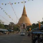 Le chedî de Nakhon Pathom
