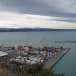 Napier - Le port et ses containers