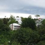 Napier - Maisons sur la colline