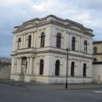Un bâtiment ancien d'Oamaru