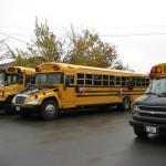 Bus écoliers de Percé