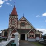 Rotorua - Eglise du village maori