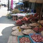 Marché de Sukhothai