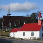 La vieille chapelle de Tadoussac
