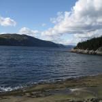 Vue sur Saguenay