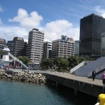 Wellington -Vue des quais